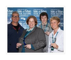 Winners with Mark Kermode - by Dave Silvester