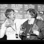 IOMFF2014 winners Seb Solberg & Gail Hackston - by Dave Silvester